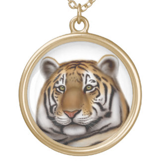Elegant Bengal Tiger Necklace