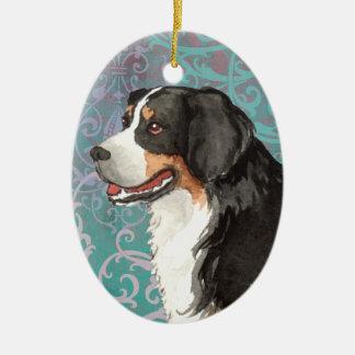 Elegant Berner Christmas Ornament
