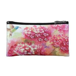 Elegant bird and flowers Bagettes Bag
