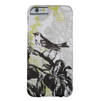 Elegant Bird vintage fashion floral iPhone 6 case