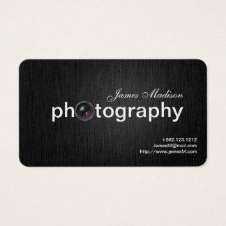 Elegant Black and Gold Professional Photographer
