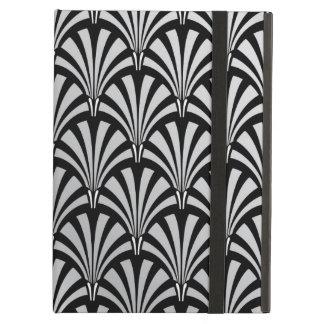 Elegant Black and Silver Art Deco iPad Air Case