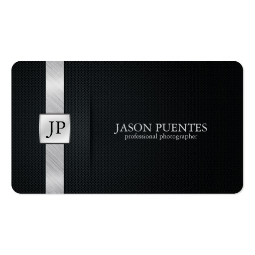 Premium damask business card templates elegant black and silver professional photographer business card colourmoves