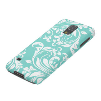 Elegant Black and white floral damask Galaxy S5 Case