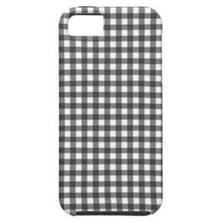 Elegant Black And white square iPhone 5 Case