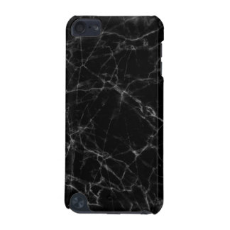 Elegant Black Faux Marble Stone iPod Touch (5th Generation) Case