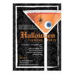 Elegant Black Lace Halloween Cocktail Party