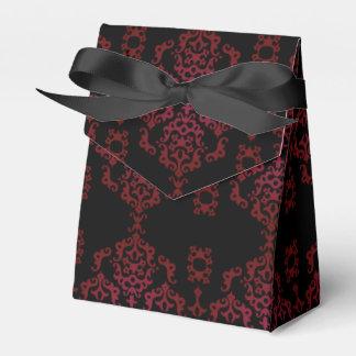 Elegant Black Scroll - Favor Box Wedding Favour Boxes