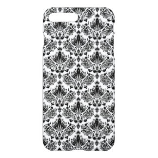 Elegant Black & White Vintage Floral Damasks iPhone 8 Plus/7 Plus Case