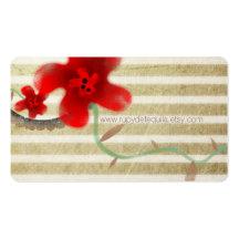 Elegant Blossom Chic Business Card Templates