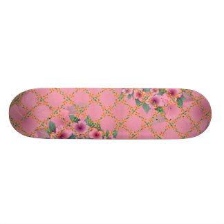elegant blossom skateboard