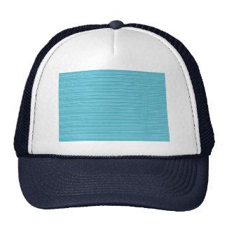 Elegant BLUE : Artist Created Pallet Add GREETING Trucker Hat