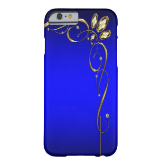 Elegant Blue Barely There iPhone 6 Case