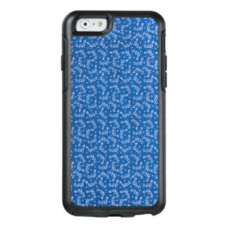 Elegant Blue Denim with Tiny Floral Design OtterBox iPhone 6/6s Case