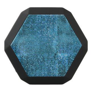 Elegant  Blue Glitter Monogram