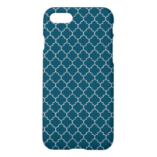 Elegant blue moroccan Pattern iPhone 8/7 Case