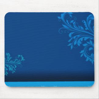 Elegant bluish paisley vector Birthday gift Mousepad
