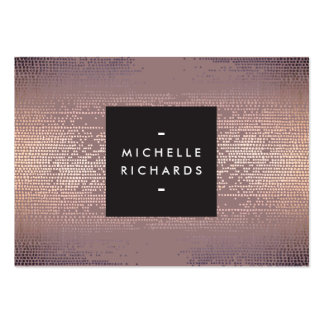 Elegant Blush Confetti Dots II Large Pack Of Chubby Business Cards