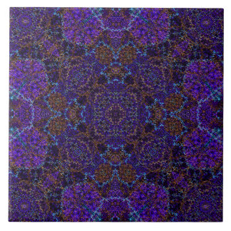 Elegant Boho-Romantic graceful lace pattern Tile