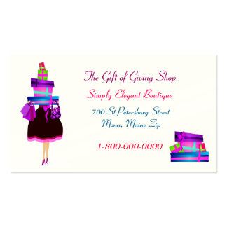 Elegant Boutique Business Cards