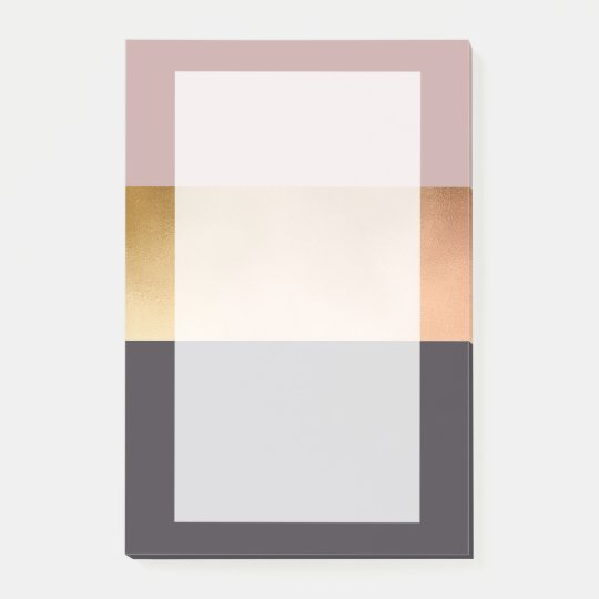 elegant bright rose gold pink grey colour block