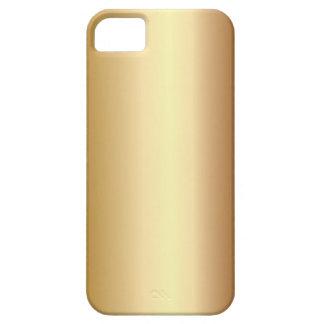 Elegant Bronze Metal Look iPhone 5 Case