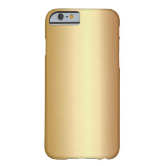 Elegant Bronze Metal Look iPhone 6 case Barely There iPhone 6 Case