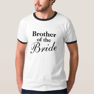 Elegant brother of the bride t shirts