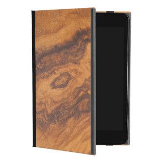 Elegant Brown Faux Wood No.3 iPad Mini 4 Case