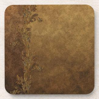 Elegant Brown Tuscan Coaster