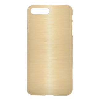 Elegant Brushed Gold Effect iPhone 7 Plus Case