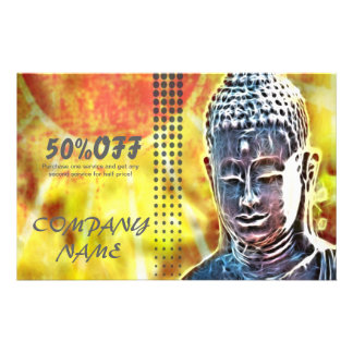 elegant buddha massage SPA modern zen Flyer