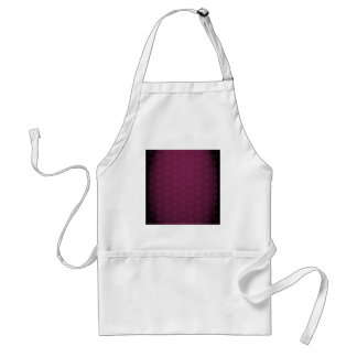 Elegant Burgundy with Gold Text Standard Apron