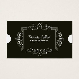 Elegant Business Calligraphy Card Template