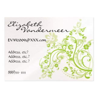 Elegant Business - Profile Card by SRF Large Business Cards (Pack Of 100)
