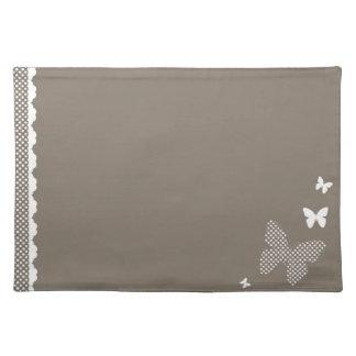 Elegant butterflies placemat