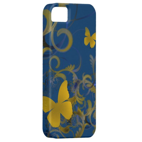 Elegant Butterfly Swirl iPhone 5 Cases