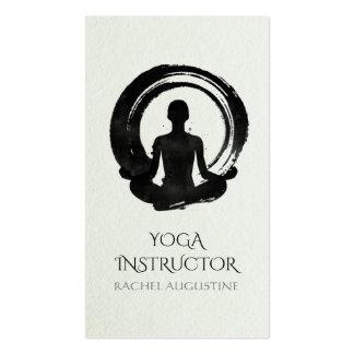 Elegant Calligraphy Yoga Meditation and ZEN Symbol Pack Of Standard Business Cards