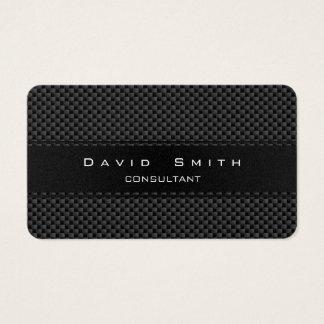 Elegant carbon fiber professional modern gold business card