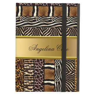 Elegant Case Mixed Animal Print iPad Air Covers