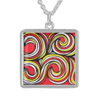 Elegant Celebrated Determined Upright Square Pendant Necklace