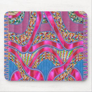 Elegant CELEBRATION Gift  Pink Silken Ribbon Gifts Mouse Pads