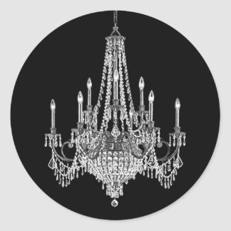 Elegant Chandelier Stickers