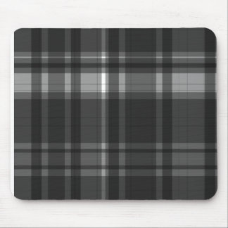 Elegant checked pattern design mouse pad