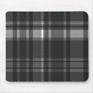 Elegant checked pattern design mousepad