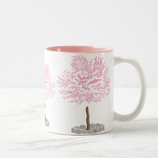 Elegant Cherry Blossom Tree Mug
