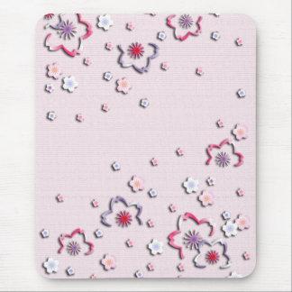 Elegant cherry blossoms mouse mat