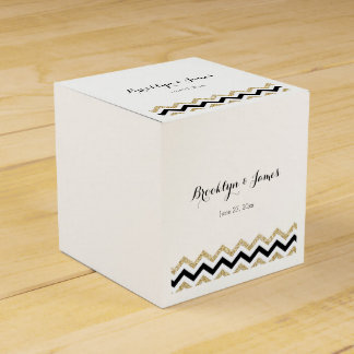Elegant Chevron Wedding Favor Boxes Party Favour Boxes
