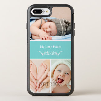 Elegant Chic Baby Kids Photo Collage OtterBox Symmetry iPhone 8 Plus/7 Plus Case