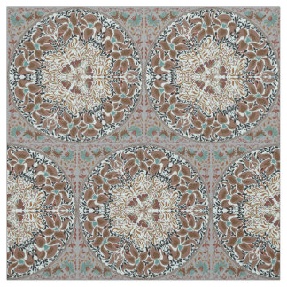 Elegant chic boho stylish floral pattern fabric
